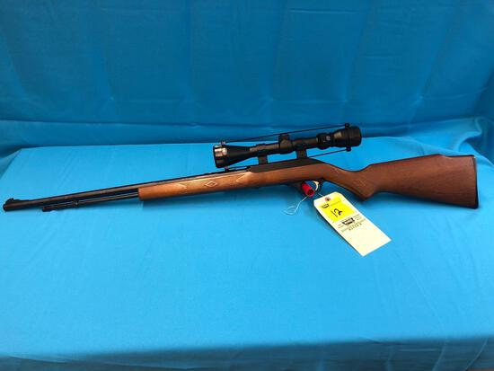 Marlin model 60 22 rifle D2222817 with scope