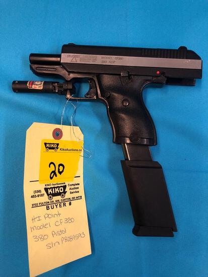 HI Point model CF380 380 pistol P8089593