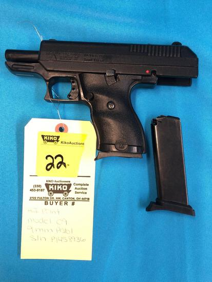 HI Point model 09 9mm pistol P1458936 with clips