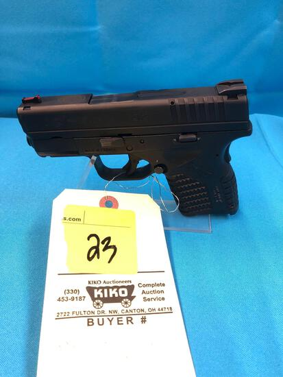 Springfield model XDS 45cal XS644085 with hardcase & accessories