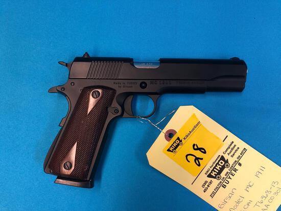 Girsan MC1911 45cal T636813/AA00301 with hardcase