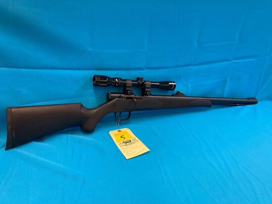 Traditions 209 50 cal rifle with scope Black Powder