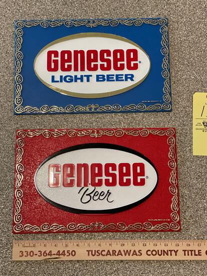 Genesee Beer Advertising