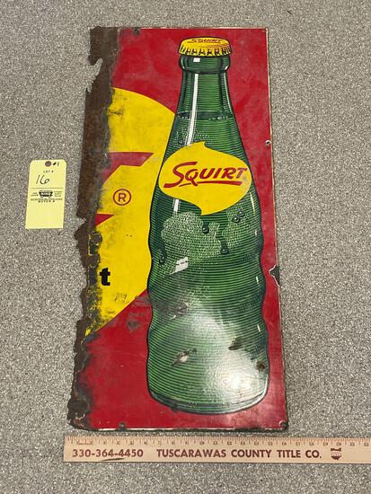 Squirt Porcelain Sign Advertising