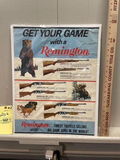 Dupont Remington Advertising Poster