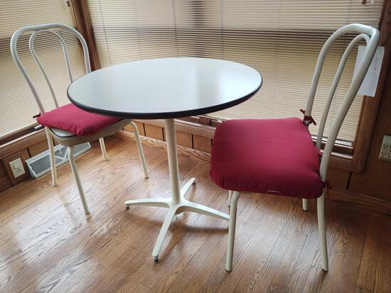 Bistro Style Table and 2 Chairs