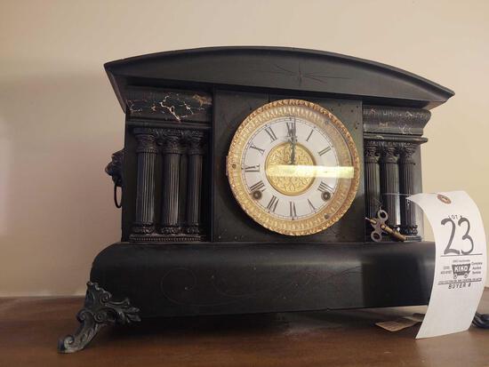 Denton Mantle Clock w/ key