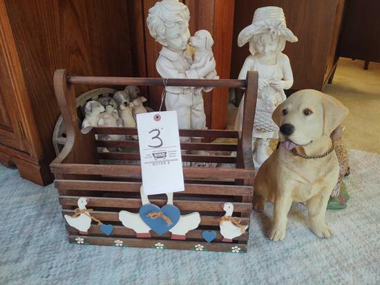 Assorted Statues and Decor