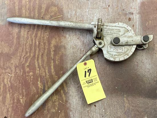 """RIDGID #358 3/8"""" radial tube bender, 5/8"""" o. d."""