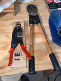 Blackburn cutter, HyTool insulink installer.