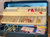 Old Pal tackle box w/ lures.