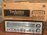 Technics by Panasonic SA-500 AM/FM receiver.