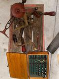 Irwin drill bits, antique tools.