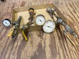 (3) Pressure test gauges.