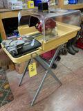 MK 370 wet tile saw, 5500 RPM. Only used twice.