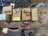 Bassett copper bell hangers, 1/2