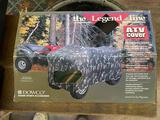 ATV cover, generously sized to fit most ATVs.