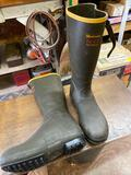 LaCrosse size 10 rubber boots w / 800 thinsulate.