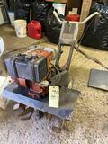 Sears Rototiller, runs but needs carburetor work.