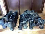 ABS plastic pipe fittings, 2