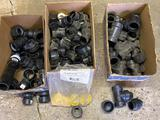 ABS plastic pipe fittings, 1 1/2