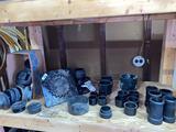 Plastic pipe fittings (3