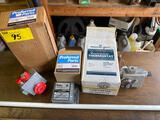 (2) Gas water heater thermostats, ignition control.