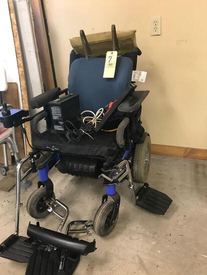 Ranger x 3200rpm electric wheelchair, (no battery)