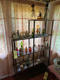 Oil Lamps and Shelf