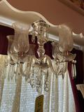 Chandelier and Planters