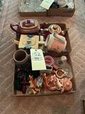 Teapots, Stein, Glassware