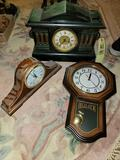 Mantle Clocks and Battery Op Regulator