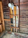 Paddle, Water Skis