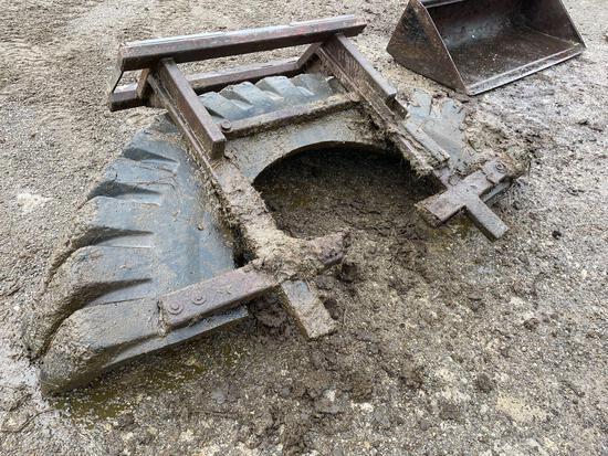 QT tire scraper 7-1/2'