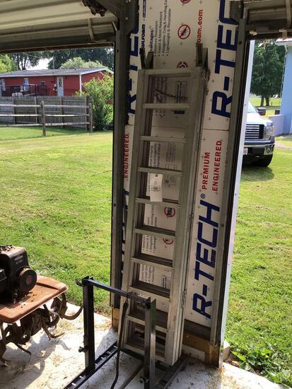Trifold aluminum ATV ramps