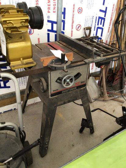10-inch Craftsman table saw