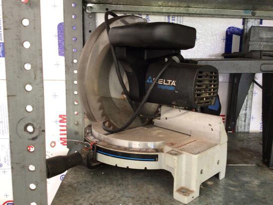 Delta power miter saw