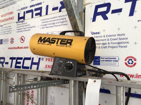Master 60,000 BTU propane heater