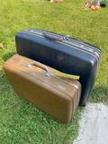 2 Vintage Luggage Bags