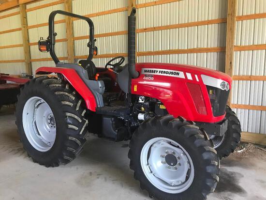 Clean Massey Ferguson 4609 4x4 diesel tractor