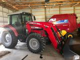 Clean Massey Ferguson HD Series 2680 4x4 diesel tractor with loader - Only 680Hrs!
