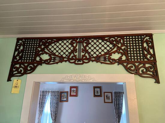 Antique Oak Victorian Fretwork