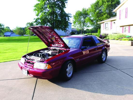 1993 Mustang - Firearms - Tools - 17720 Rusty