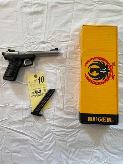 Ruger 22/45 .22 cal. LR, semi auto w/ single magazine