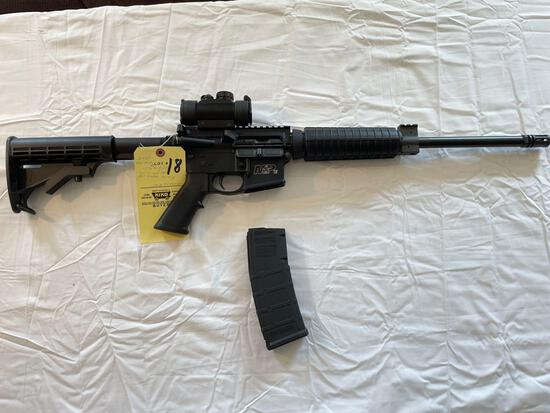 Smith & Wesson M&P 15, .223, .556 cal., w/ TRUGLO red dot & 30 round mag