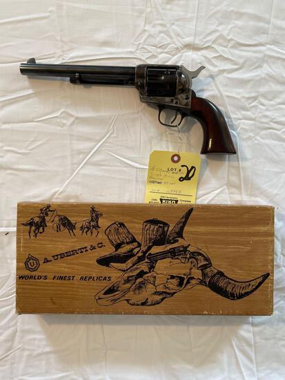 A. Uberti & Co. .45 cal., single-action revolver