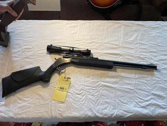 CVA Optima .50-cal. muzzle loader, with 3x9 Bushnell scope 1:28 twist