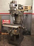 1HP Bridgeport with 7 inch spacer