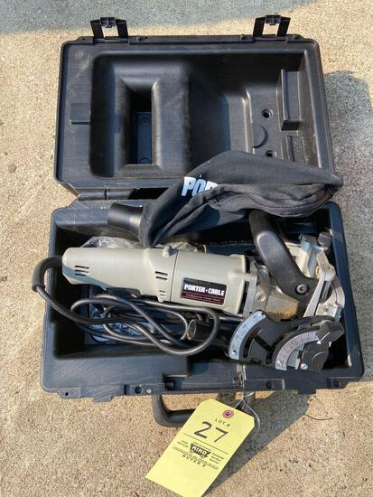 Porter Cable Plate Joiner with Case