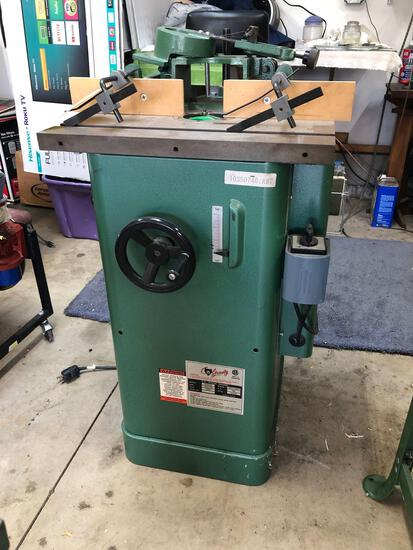 1997 Grizzly 3/4 inch wood shaper